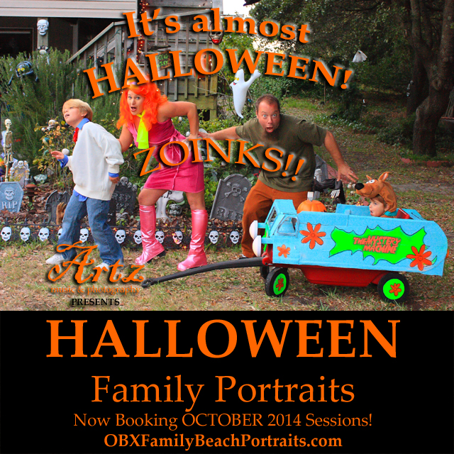 Click Here to Book Your Halloween Family Portraits!